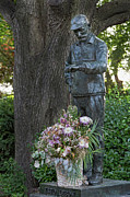 Fred Photos - Fred Lebow Statue Central Park NYC by Robert Ullmann
