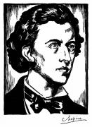 Chopin Prints - Frederic Chopin (1810-1849) Print by Granger