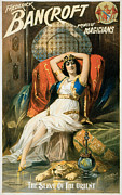Frederick Bancroft Prince Of Magicians Print by Na