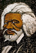 Human Rights Paintings - Frederick Douglas by Pete Maier