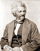 Anti-slavery Framed Prints - Frederick Douglass 1818-1895, Former Framed Print by Everett
