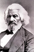 African-american Photo Posters - Frederick Douglass Poster by Everett