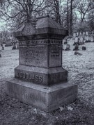 Mount Hope Cemetery Prints - Frederick Douglass Grave One Print by Joshua House