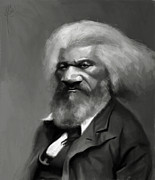 Douglass Digital Art - Frederick Douglass by Jumaane Sorrells-Adewale