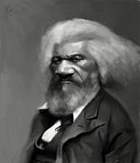 Frederick Douglass Print by Jumaane Sorrells-Adewale