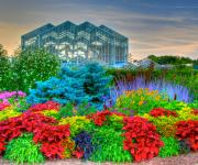 Land Mark Framed Prints - Frederik Meijer Gardens-2 Framed Print by Robert Pearson