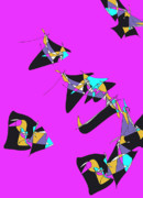 Free Kites Print by Valerie Benedetti