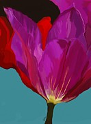 Bloom Painting Originals - Free Poppie by Patti Siehien