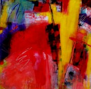 Corporate Painting Prints - Free Spirit 006 Print by Donna Frost