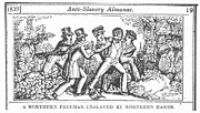 Abolition Framed Prints - Freedman Enslaved, 1839 Framed Print by Granger