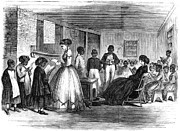 Cooke Prints - Freedmen School, 1866 Print by Granger