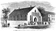 African Saint Prints - Freedmen School, 1867 Print by Granger