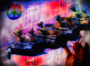 .freedom Mixed Media Metal Prints - Freedom Metal Print by Bill Cannon