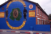 Mural Photos - Freedom Corner Mural Belfast Northern Ireland by Thomas R Fletcher