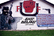 Mural Photos - Freedom Corner Mural Belfast by Thomas R Fletcher