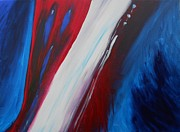 Patriotic Paintings - Freedom of Abstraction by Susan Hanna