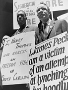 Discrimination Prints - Freedom Riders James Peck, Head Print by Everett