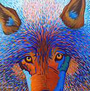 Dogs Art - Freedom Run by Brian  Commerford