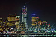 Freedom Tower Half Way Build Print by Alex AG