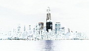 Lewis Mengersen - Freedom Tower Negative