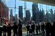 11 Wtc Framed Prints - Freedom Tower Spectators Framed Print by Andrew Fare