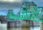 Freeport Prints - Freeport Bridge  Print by Tracy Thomas