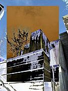 Urban Canyon Prints - Freeway Park 7 Print by Tim Allen
