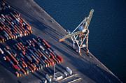 Sami Sarkis - Freight container yard at Marseille Port