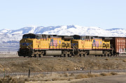 David R Frazier and Photo Researchers - Freight Train East of Boise