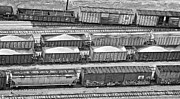 Fec Prints - Freight Trains Print by Patrick M Lynch
