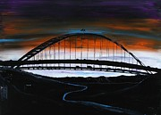 James Dunbar - Fremont Bridge By Night 2