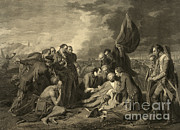 New Britain Framed Prints - French And Indian War, General Wolfes Framed Print by Photo Researchers