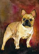 French Bulldog Paintings - French Bulldog by Kathleen Sepulveda