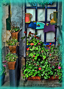\\\\joan Minchak\\\\ Framed Prints - French Cafe Framed Print by Joan  Minchak