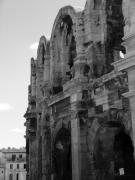 French Photo Originals - French Colosseum by Noelle  Kimberley