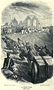 Punishment Prints - French Convicts At Hard Labor, Ca Print by Everett