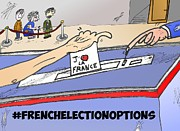Presidential Mixed Media - French Election Options by OptionsClick BlogArt