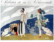 1923 Photos - French Fashion Ad, 1923 by Granger