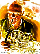 Trombone Art - French Horn by Stephen Younts