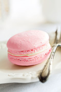 Tabletop Framed Prints - French macaron Framed Print by Ruth Black