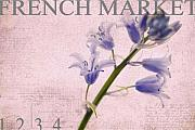 Market Prints - French Market Series A Print by Rebecca Cozart