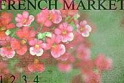 French Market Posters - French Market Series I Poster by Rebecca Cozart