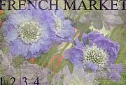 French Photo Posters - French Market Series R Poster by Rebecca Cozart