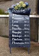 Moules Photos - French Mussels by Carla Parris