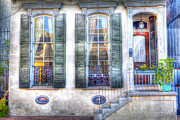 French Door Prints - French Quarter 1  - New Orleans Print by Steve Sturgill