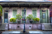 French Quarter Doors Framed Prints - French Quarter 5 - New Orleans Framed Print by Steve Sturgill