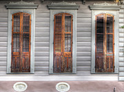 French Door Prints - French Quarter 7 - New Orleans Print by Steve Sturgill