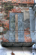 French Door Prints - French Quarter 8 - New Orleans Print by Steve Sturgill