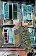 New Orleans Oil Paintings - French Quarter by Craig Morris
