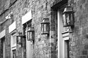 Ledaphotography.com Photo Framed Prints - French Quarter Lamps Framed Print by Leslie Leda